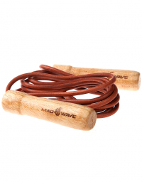 Скакалка с деревянными ручками Wooden Skip Rope with leather cord