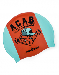 Силиконовая шапочка A.C.A.B.