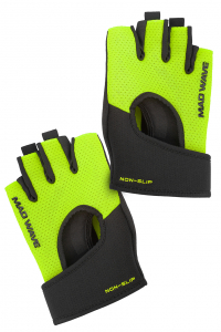 Перчатки для фитнеса FITNESS GLOVES VELCRO