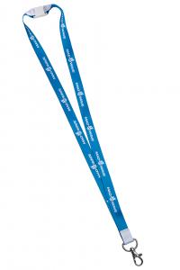 Лента для бейджей MAD WAVE with safety clip