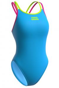 Женский купальник спортивный антихлор Crossback PBT