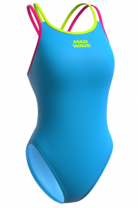 Юниорский купальник спортивный антихлор Crossback Junior