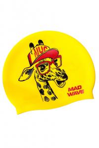 Юниорская силиконовая шапочка Giraffe