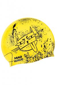 Юниорская силиконовая шапочка MAD CAT